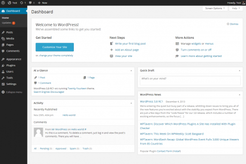 wp-dashboard